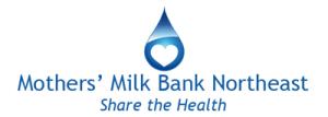 Mother's Milk Bank Northeast Logo